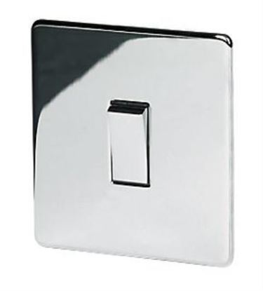 7175/HPC Intermediate Polished Chrome Light Switch