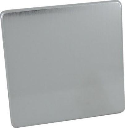 Crabtree 7775/SC 1 Gang Blank Plate Satin Chrome