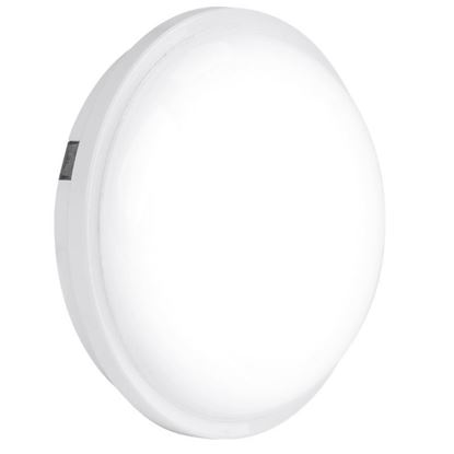 ENLITE POLYCARBONATE IP65 ROUND 20W LED BULKHEAD ENBH120/40, COOL WHITE